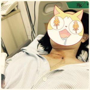 Nhập viện vì khối u trên cổ, cuộc điện thoại từ phòng bên cạnh khiến người phụ nữ bất ngờ