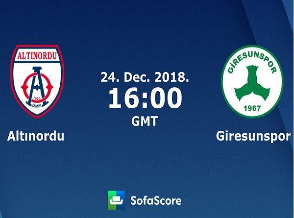 Nhận định Altinordu vs Giresunspor
