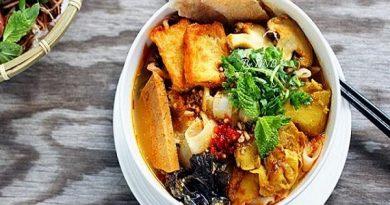 Cách nấu mì Quảng chay thơm