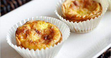 Cách làm bánh trứng Custard ngon