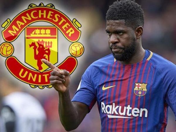 Báo châu Âu tung tin Barca sẽ bán Umtiti cho MU