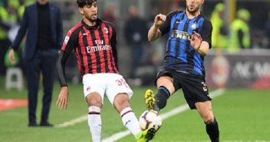 Inter đánh bại Milan với tỷ số 3-2