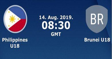 Soi kèo U18 Philippines vs U18 Brunei, 19h00 ngày 14/08