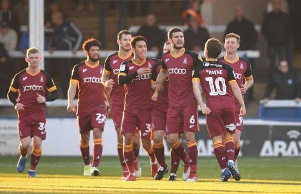 Nhận định trận đấu Rochdale vs Bradford City thứ 4 ngày 13-11-2019