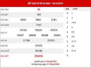 Thống kê XSCM ngày 23/12/2019