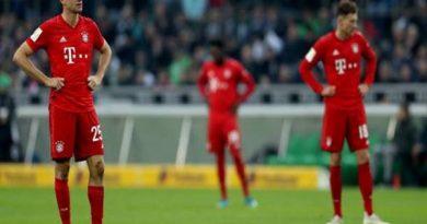 Nguyên nhân khiến Bayern Munich gục ngã liên tục