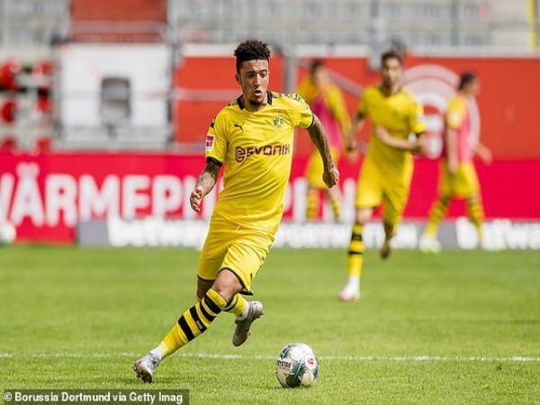 MU chờ Dortmund giảm giá vụ Jadon Sancho