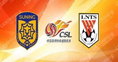 Nhận định Jiangsu Suning vs Shandong Luneng 17h00, 31/07
