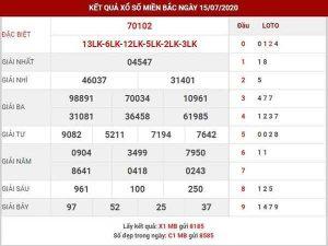Bảng KQXSMB- Nhận định xổ số miền bắc ngày 16/07 chuẩn xác