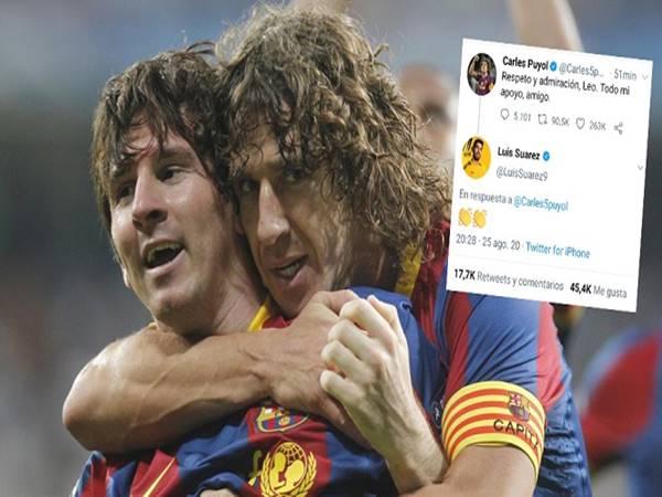 Huyền thoại Barca tán thành quyết định của Messi
