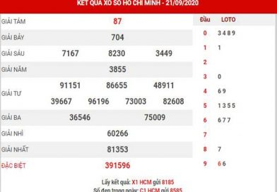 Thống kê XSHCM ngày 26/9/2020 – Thống kê xổ số Hồ Chí Minh thứ 7