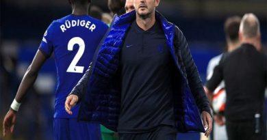 Tin thể thao trưa 28/10: Lampard mở đường trở lại cho Ruediger
