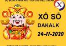 Phân tích xổ số Daklak thứ 3 ngày 24/11/2020