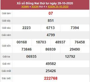 Nhận định KQXS Đồng Nai 4/11/2020 chốt XSDNA thứ 4
