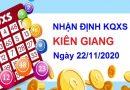 Nhận định KQXSKG ngày 22/11/2020 chốt lô xổ số Kiên Giang