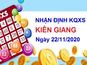 Nhận định KQXSKG ngày 22/11/2020
