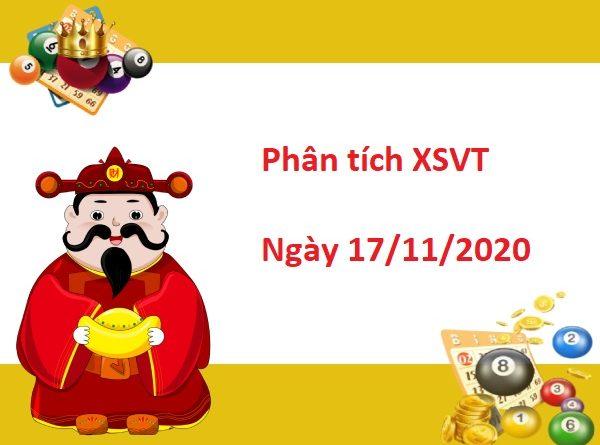 Phân tích XSVT 17/11/2020