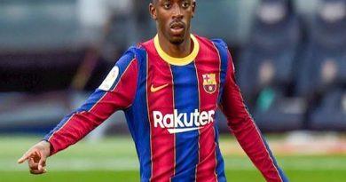 Tin BĐQT trưa 27/1 : Dembele bỏ ngỏ khả năng rời Barca