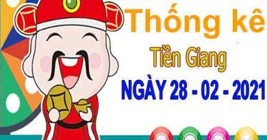 Thống kê XSTG ngày 28/2/2021 – Thống kê KQXS Tiền Giang chủ nhật