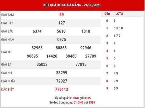 Thống kê XSDNG ngày 27/3/2021 - Thống kê KQ Đà Nẵng thứ 7 chuẩn xác