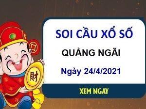 Soi cầu XSQNG ngày 24/4/2021