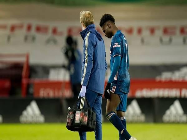 Tin bóng đá 12/4: HLV Arteta lý giải nguyên nhân Saka rời sân