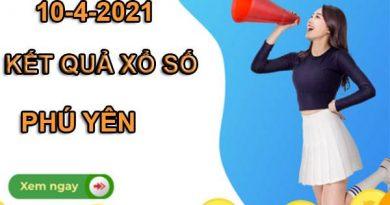 Soi cầu kết quả xổ số Phú Yên thứ 2 ngày 10/5/2021