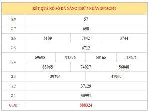 Thống kê KQXSDNG ngày 2/6/2021 dựa trên kết quả kì trước