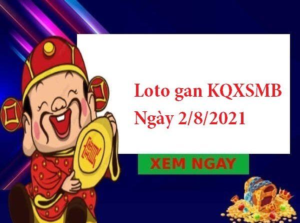 Loto gan KQXSMB 2/8/2021