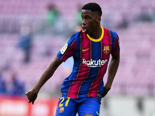 Barca đồng ý bán Moriba cho Leicester City