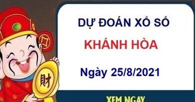 Dự đoán XSKH ngày 25/8/2021