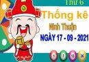Thống kê XSNT ngày 17/9/2021 đài Ninh Thuận thứ 6 hôm nay chính xác nhất