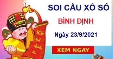 Soi cầu KQXSBDI ngày 23/9/2021